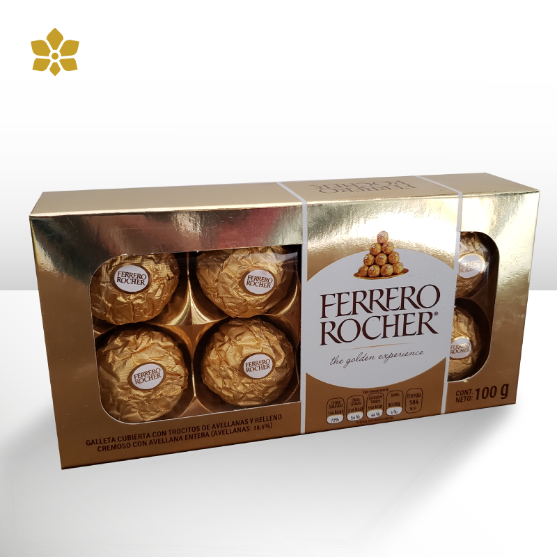 Chocolates Ferrero 8 Piezas