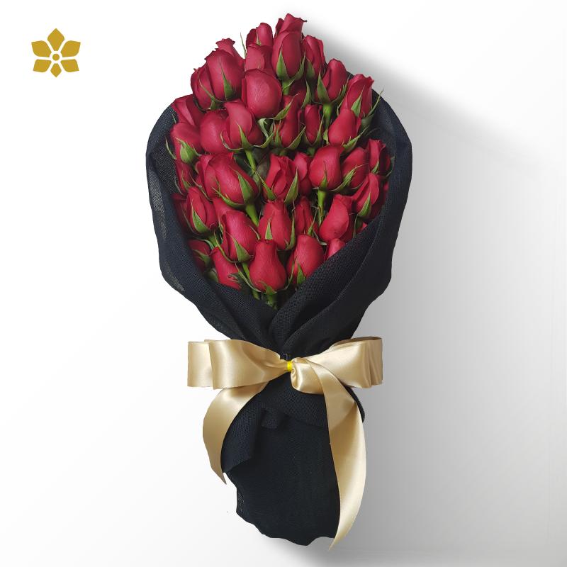 48 Rosas en Bouquet